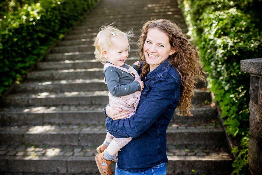 familiebilleder og familieportrætter