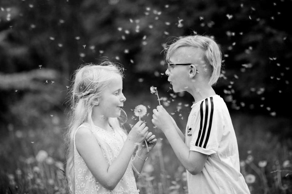 Få dine børn fotograferet sammen
