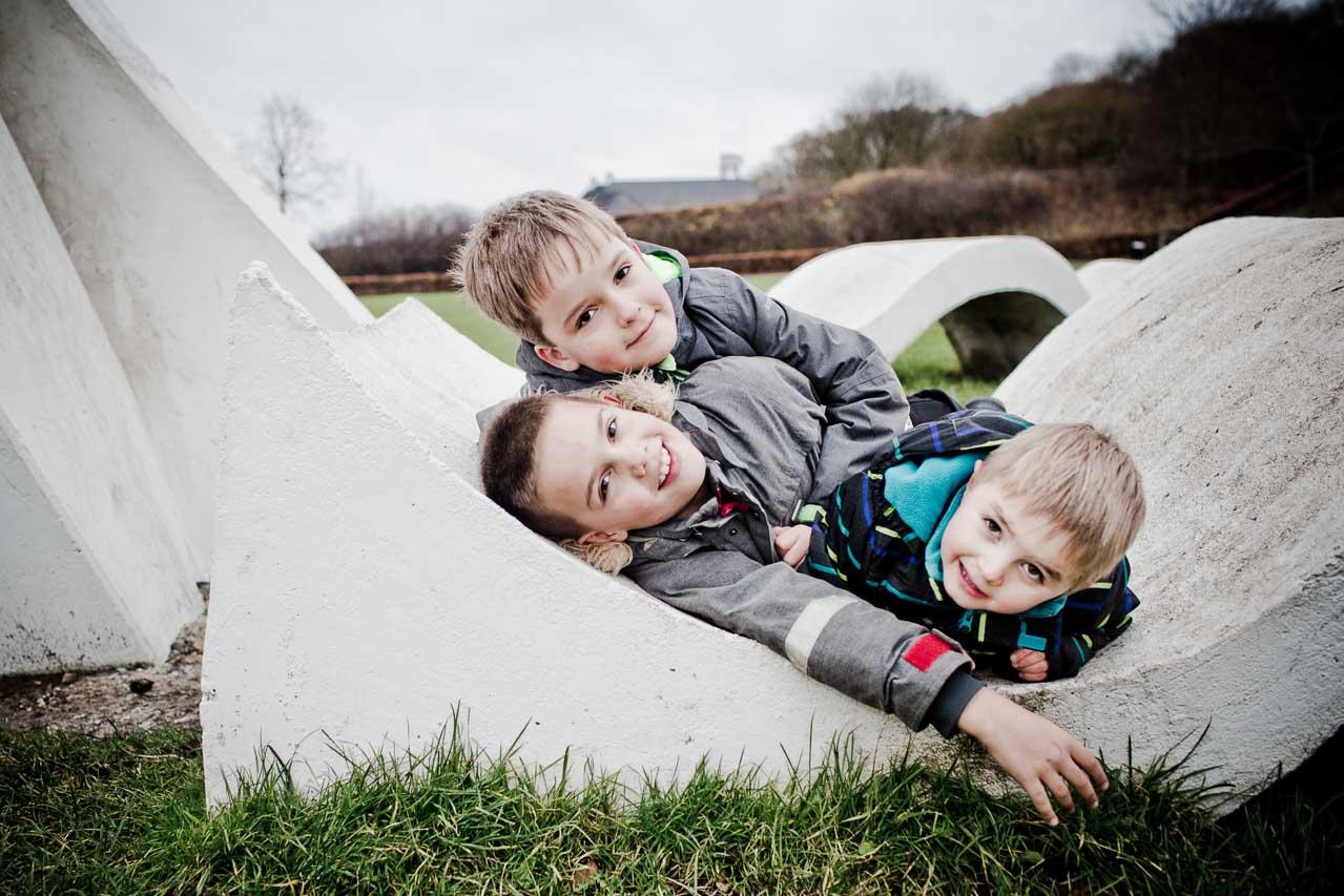 Fotografering af familier og børn i Aarhus