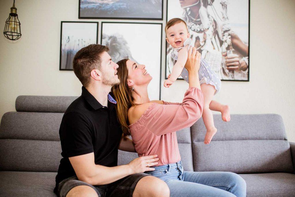 Sjove familiefotos