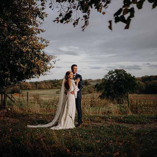 fotografering af bryllup i Århus