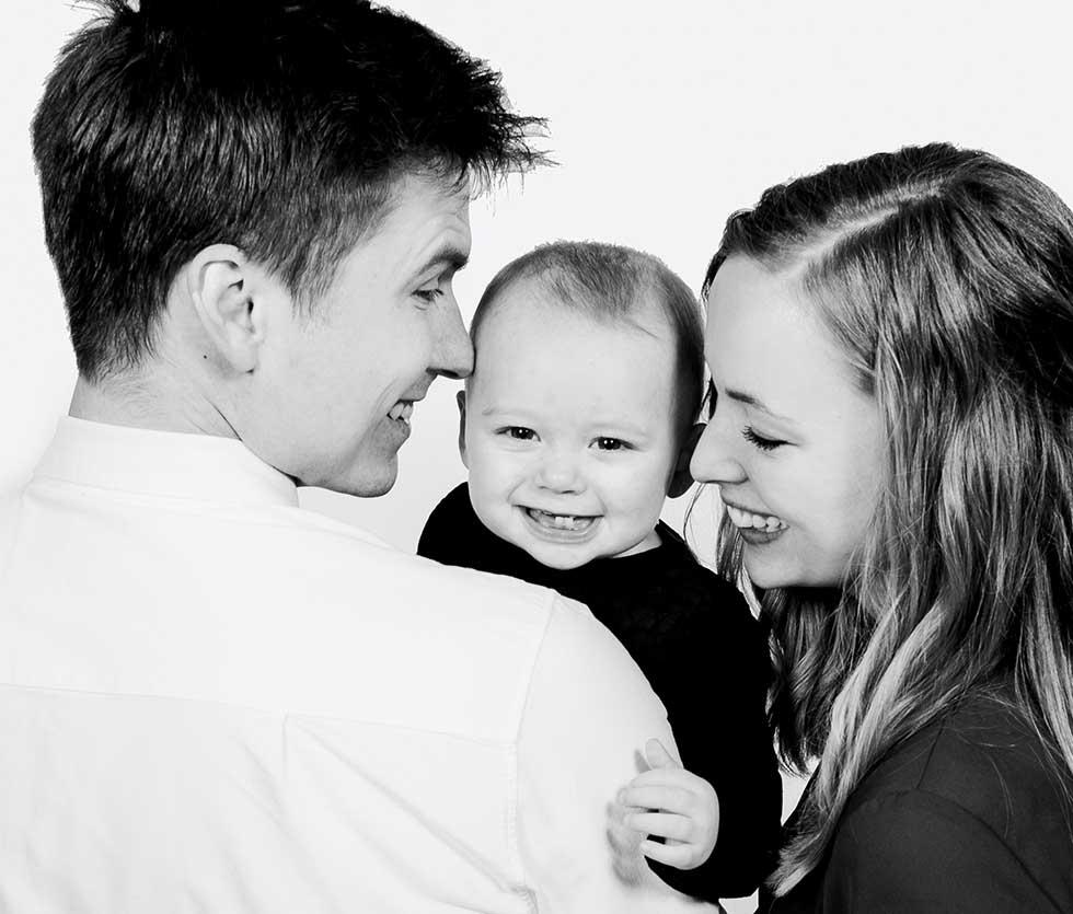 Familiefotograf til familiefotografering