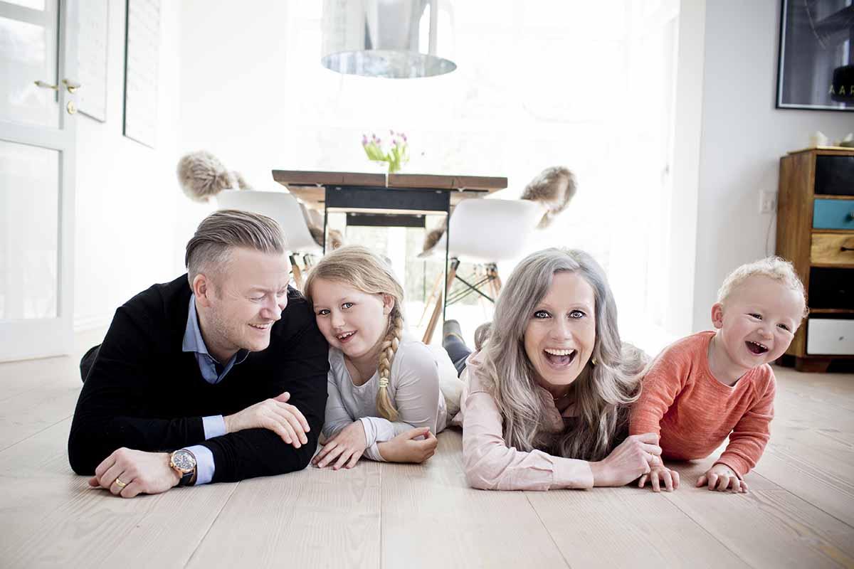 familiefoto Aarhus
